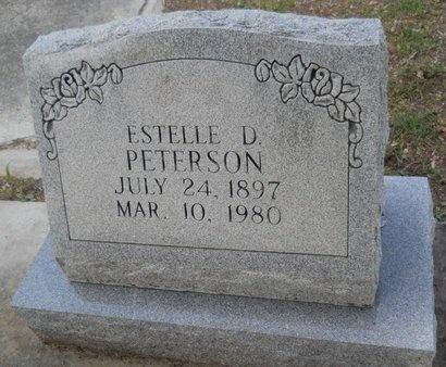 PETERSON, ESTELLE D - Hancock County, Mississippi | ESTELLE D PETERSON - Mississippi Gravestone Photos