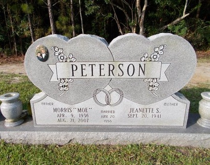 "PETERSON, MORRIS ""MOE"" - Hancock County, Mississippi | MORRIS ""MOE"" PETERSON - Mississippi Gravestone Photos"