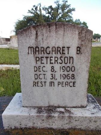 PETERSON, MARGARET B - Hancock County, Mississippi   MARGARET B PETERSON - Mississippi Gravestone Photos