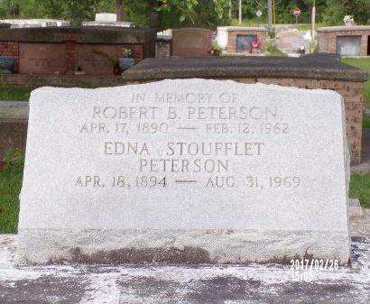 PETERSON, EDNA - Hancock County, Mississippi | EDNA PETERSON - Mississippi Gravestone Photos