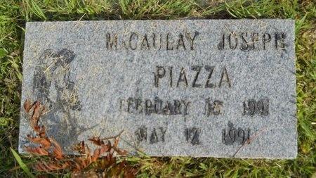 PIAZZA, MACAULAY JOSEPH - Hancock County, Mississippi | MACAULAY JOSEPH PIAZZA - Mississippi Gravestone Photos