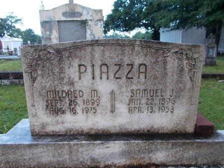PIAZZA, SAMUEL J - Hancock County, Mississippi   SAMUEL J PIAZZA - Mississippi Gravestone Photos