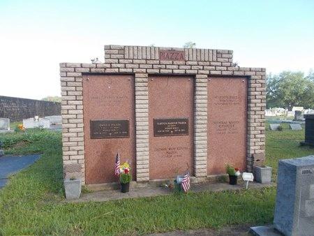 PIAZZA, MEMORIAL - Hancock County, Mississippi | MEMORIAL PIAZZA - Mississippi Gravestone Photos
