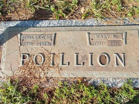 POILLION, EDWARD G., SR - Hancock County, Mississippi | EDWARD G., SR POILLION - Mississippi Gravestone Photos