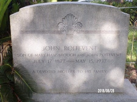 POITEVENT, JOHN - Hancock County, Mississippi | JOHN POITEVENT - Mississippi Gravestone Photos