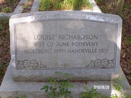 POITEVENT, LOUISE - Hancock County, Mississippi   LOUISE POITEVENT - Mississippi Gravestone Photos