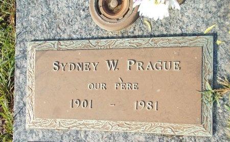 PRAGUE, SYDNEY W - Hancock County, Mississippi | SYDNEY W PRAGUE - Mississippi Gravestone Photos
