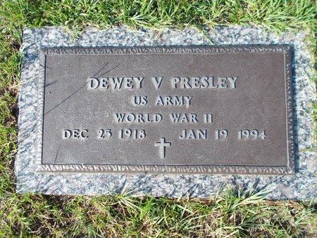 PRESLEY, DEWEY V - Hancock County, Mississippi   DEWEY V PRESLEY - Mississippi Gravestone Photos