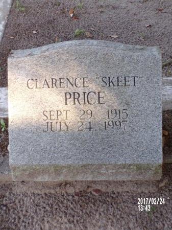 "PRICE, CLARENCE ""SKEET"" - Hancock County, Mississippi   CLARENCE ""SKEET"" PRICE - Mississippi Gravestone Photos"