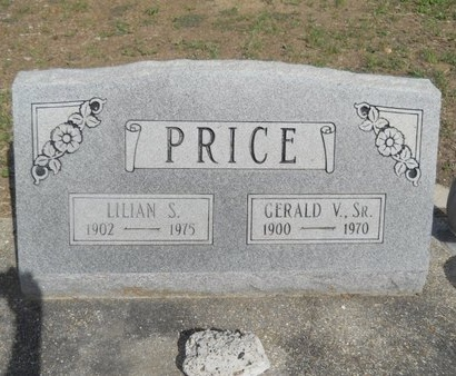 PRICE, LILIAN S - Hancock County, Mississippi | LILIAN S PRICE - Mississippi Gravestone Photos