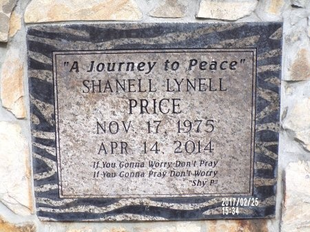 PRICE, SHANELL LYNELL - Hancock County, Mississippi | SHANELL LYNELL PRICE - Mississippi Gravestone Photos