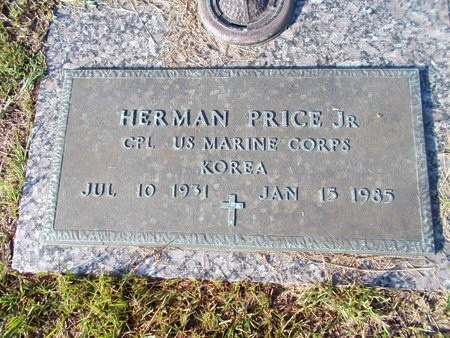 PRICE (VETERAN KOR), HERMAN, JR (NEW) - Hancock County, Mississippi | HERMAN, JR (NEW) PRICE (VETERAN KOR) - Mississippi Gravestone Photos