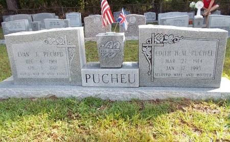 PUCHEU, EVAN J - Hancock County, Mississippi   EVAN J PUCHEU - Mississippi Gravestone Photos