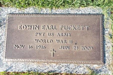 PUCKETT (VETERAN WWII), EDWIN EARL (NEW) - Hancock County, Mississippi | EDWIN EARL (NEW) PUCKETT (VETERAN WWII) - Mississippi Gravestone Photos