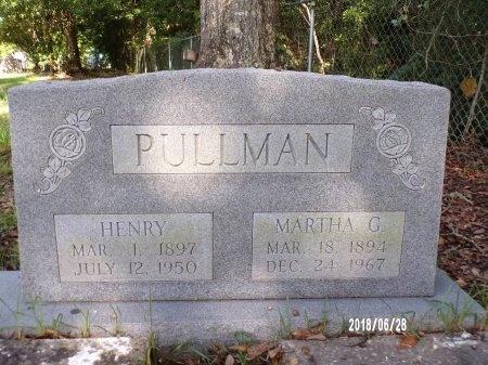PULLMAN, MARTHA - Hancock County, Mississippi   MARTHA PULLMAN - Mississippi Gravestone Photos