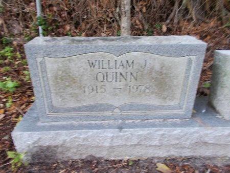 QUINN, WILLIAM J - Hancock County, Mississippi | WILLIAM J QUINN - Mississippi Gravestone Photos