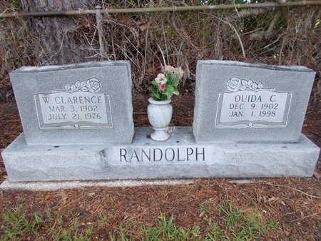 RANDOLPH, W CLARENCE - Hancock County, Mississippi | W CLARENCE RANDOLPH - Mississippi Gravestone Photos