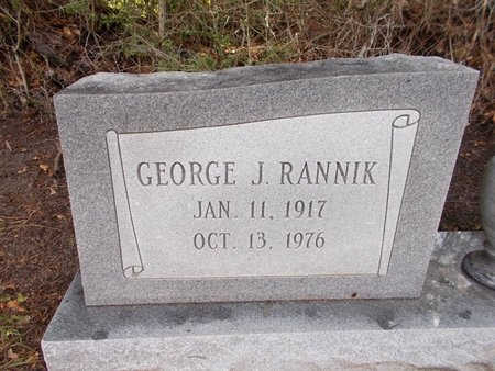 RANNIK, GEORGE J - Hancock County, Mississippi   GEORGE J RANNIK - Mississippi Gravestone Photos