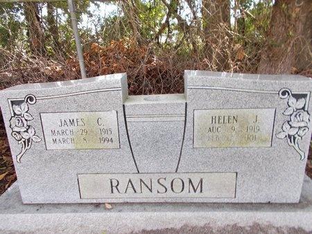 RANSOM, HELEN J - Hancock County, Mississippi | HELEN J RANSOM - Mississippi Gravestone Photos
