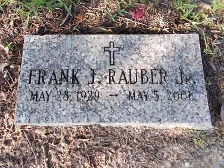 RAUBER, FRANK J., JR - Hancock County, Mississippi   FRANK J., JR RAUBER - Mississippi Gravestone Photos