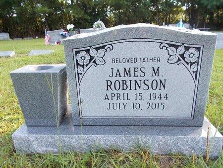 ROBINSON, JAMES M - Hancock County, Mississippi | JAMES M ROBINSON - Mississippi Gravestone Photos