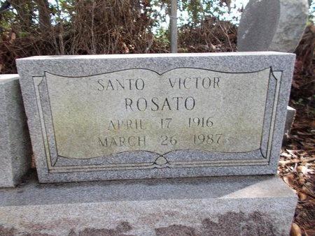 ROSATO, SANTO VICTOR - Hancock County, Mississippi | SANTO VICTOR ROSATO - Mississippi Gravestone Photos