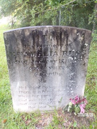 RUSS, AMELIA - Hancock County, Mississippi | AMELIA RUSS - Mississippi Gravestone Photos