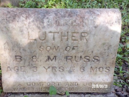 RUSS, LUTHER - Hancock County, Mississippi | LUTHER RUSS - Mississippi Gravestone Photos