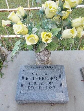 "RUTHERFORD, MELBA DAVID ""PAT"" - Hancock County, Mississippi | MELBA DAVID ""PAT"" RUTHERFORD - Mississippi Gravestone Photos"