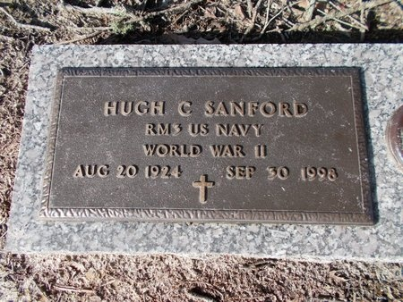 SANFORD (VETERAN WWII), HUGH C (NEW) - Hancock County, Mississippi | HUGH C (NEW) SANFORD (VETERAN WWII) - Mississippi Gravestone Photos