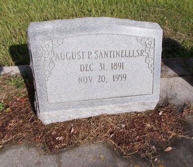 SANTINELLI, AUGUST P., SR - Hancock County, Mississippi | AUGUST P., SR SANTINELLI - Mississippi Gravestone Photos