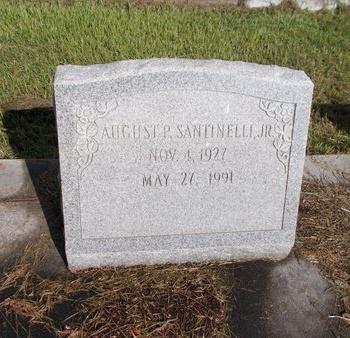SANTINELLI, AUGUST P., JR - Hancock County, Mississippi | AUGUST P., JR SANTINELLI - Mississippi Gravestone Photos