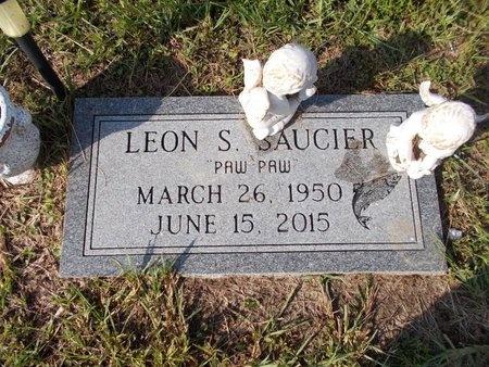 SAUCIER, LEON S - Hancock County, Mississippi | LEON S SAUCIER - Mississippi Gravestone Photos