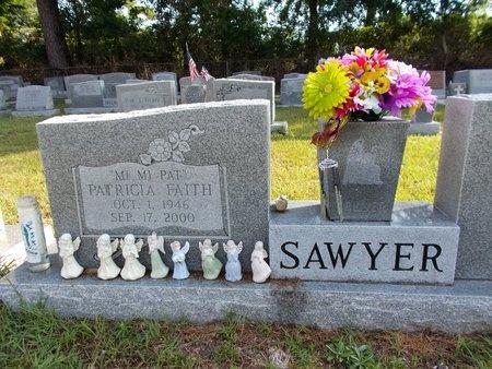 SAWYER, PATRICIA FAITH - Hancock County, Mississippi   PATRICIA FAITH SAWYER - Mississippi Gravestone Photos