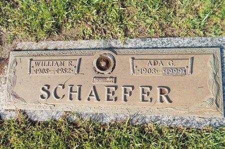SCHAEFER, WILLIAM R - Hancock County, Mississippi | WILLIAM R SCHAEFER - Mississippi Gravestone Photos