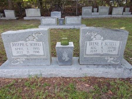SCHELL, JOSEPH G - Hancock County, Mississippi | JOSEPH G SCHELL - Mississippi Gravestone Photos