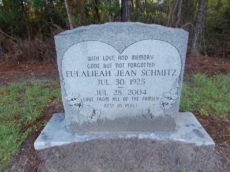 SCHMITZ, EULALIEAH JEAN - Hancock County, Mississippi | EULALIEAH JEAN SCHMITZ - Mississippi Gravestone Photos