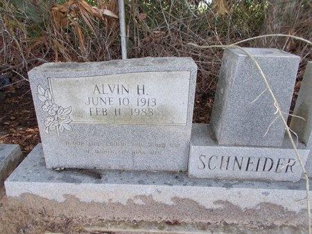 SCHNEIDER, ALVIN H - Hancock County, Mississippi | ALVIN H SCHNEIDER - Mississippi Gravestone Photos