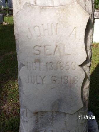 SEAL, JOHN ANTHONY (CLOSE UP) - Hancock County, Mississippi | JOHN ANTHONY (CLOSE UP) SEAL - Mississippi Gravestone Photos