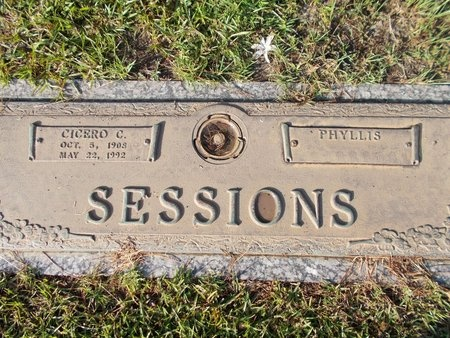 SESSIONS, PHYLLIS D - Hancock County, Mississippi | PHYLLIS D SESSIONS - Mississippi Gravestone Photos