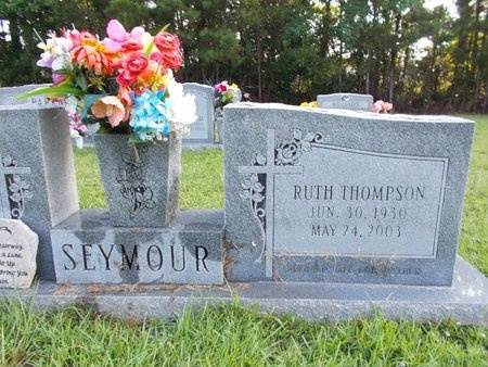 THOMPSON SEYMOUR, RUTH - Hancock County, Mississippi | RUTH THOMPSON SEYMOUR - Mississippi Gravestone Photos