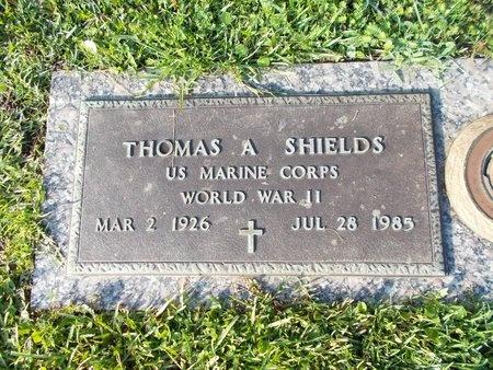 SHIELDS (VETERAN WWII), THOMAS A (NEW) - Hancock County, Mississippi | THOMAS A (NEW) SHIELDS (VETERAN WWII) - Mississippi Gravestone Photos
