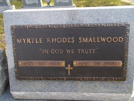 SMALLWOOD, MYRTLE - Hancock County, Mississippi | MYRTLE SMALLWOOD - Mississippi Gravestone Photos