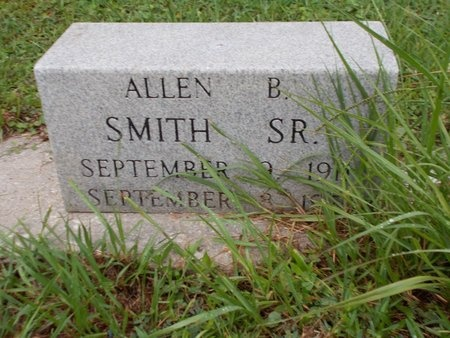 SMITH, ALLEN B., SR - Hancock County, Mississippi | ALLEN B., SR SMITH - Mississippi Gravestone Photos
