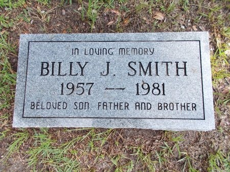 SMITH, BILLY J - Hancock County, Mississippi | BILLY J SMITH - Mississippi Gravestone Photos