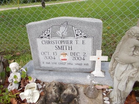 SMITH, CHRISTOPHER T E - Hancock County, Mississippi | CHRISTOPHER T E SMITH - Mississippi Gravestone Photos
