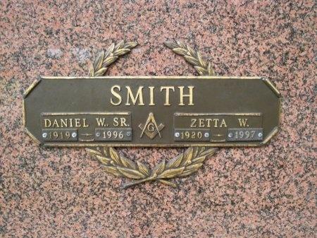 SMITH, DANIEL W., SR - Hancock County, Mississippi | DANIEL W., SR SMITH - Mississippi Gravestone Photos