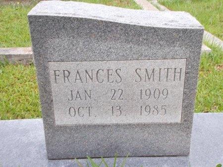 SMITH, FRANCES (CLOSE UP) - Hancock County, Mississippi | FRANCES (CLOSE UP) SMITH - Mississippi Gravestone Photos