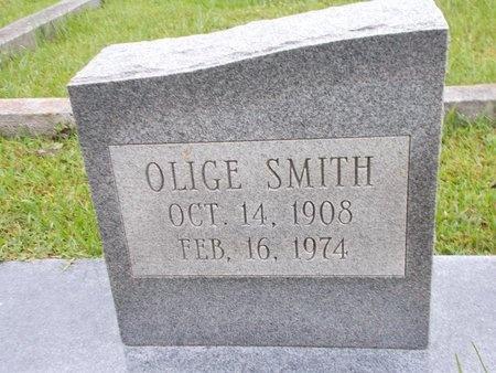 SMITH, OLIGE (CLOSE UP) - Hancock County, Mississippi | OLIGE (CLOSE UP) SMITH - Mississippi Gravestone Photos