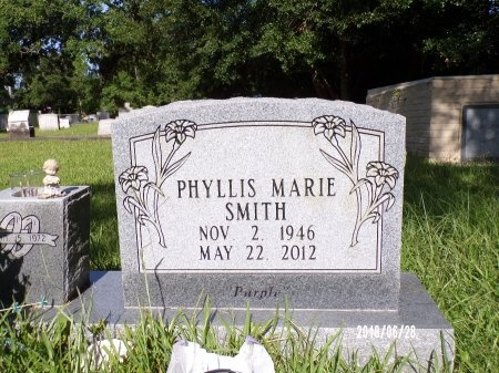 SMITH, PHYLLIS MARIE - Hancock County, Mississippi | PHYLLIS MARIE SMITH - Mississippi Gravestone Photos
